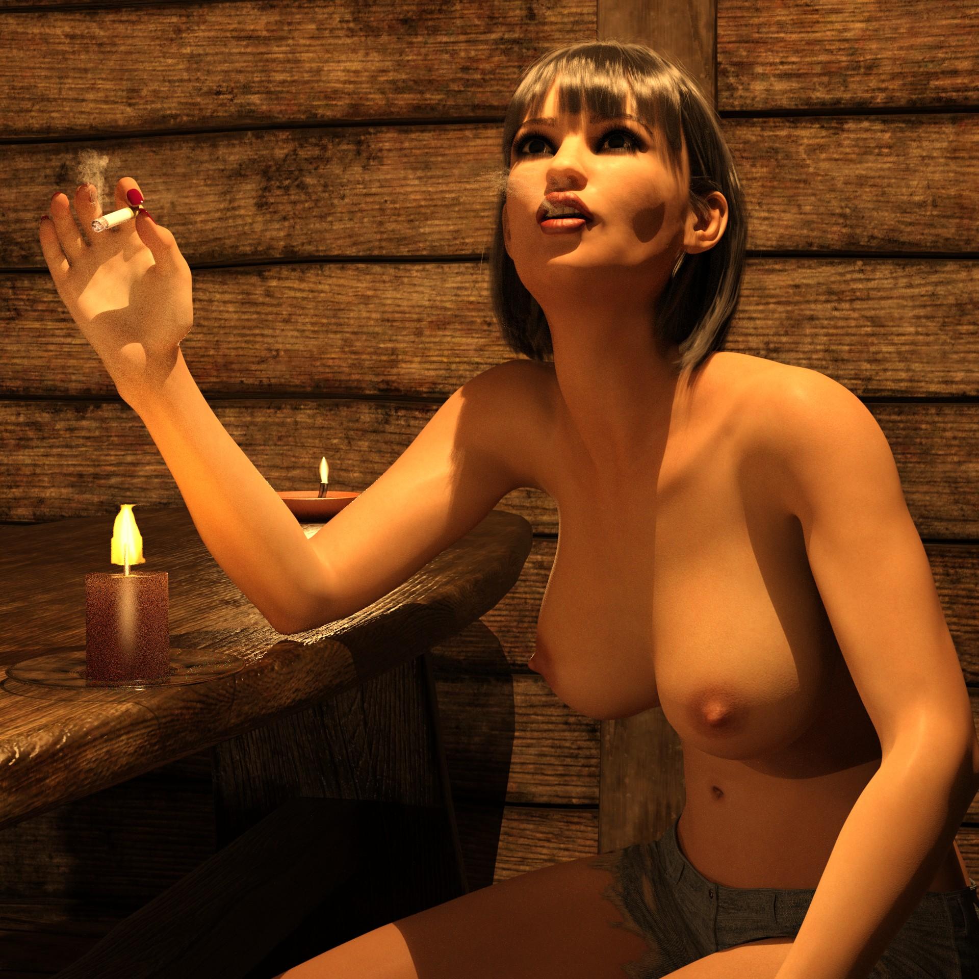 Дамочка с огоньком